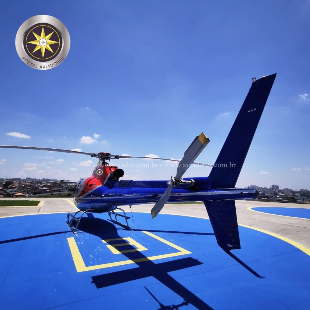 Helibras Esquilo AS350B3 – Ano 2012 – 1100 H.T. full