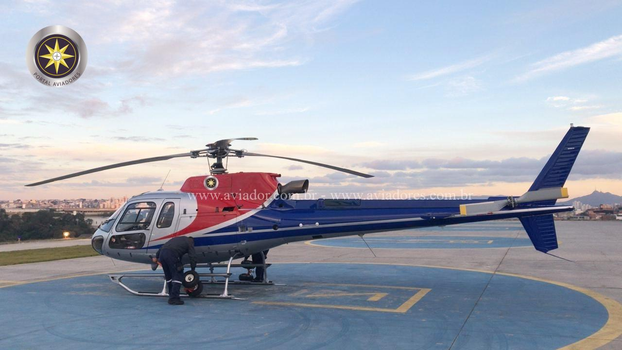 Helibras Esquilo AS350B3 – Ano 2012 – 1100 H.T.