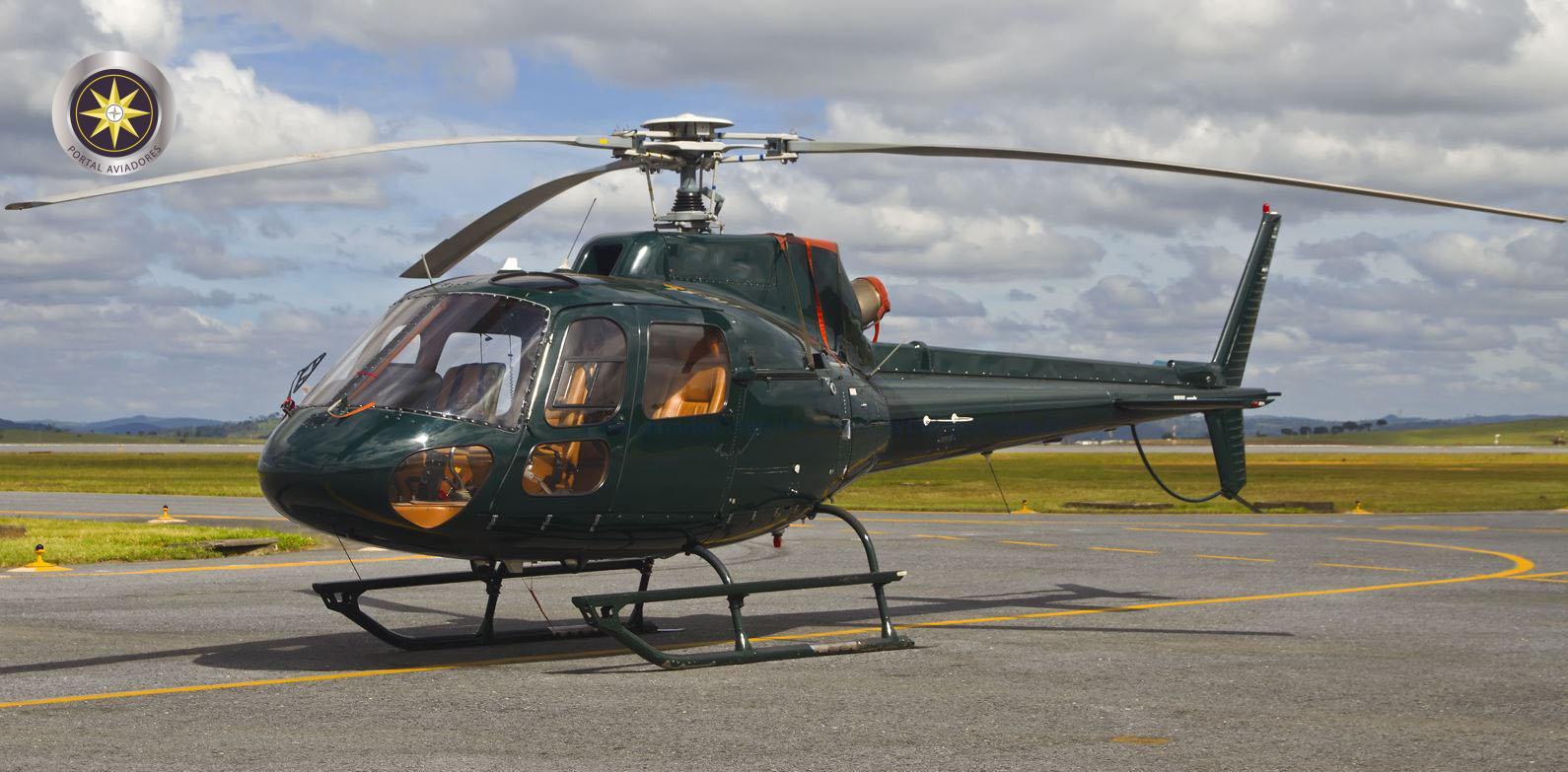 Helibras Esquilo AS350B2 - Ano 2004 - 2.000 H.T.