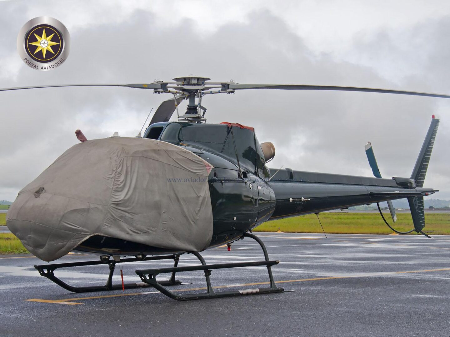 Helibras Esquilo AS350B2 – Ano 2004 – 2.000 H.T. full