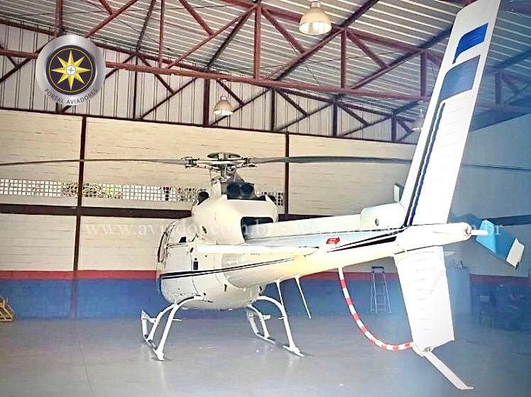 Helicóptero Eurocopter (Airbus)- AS355-F1 – Ano 1981- 5.200 H.T. full