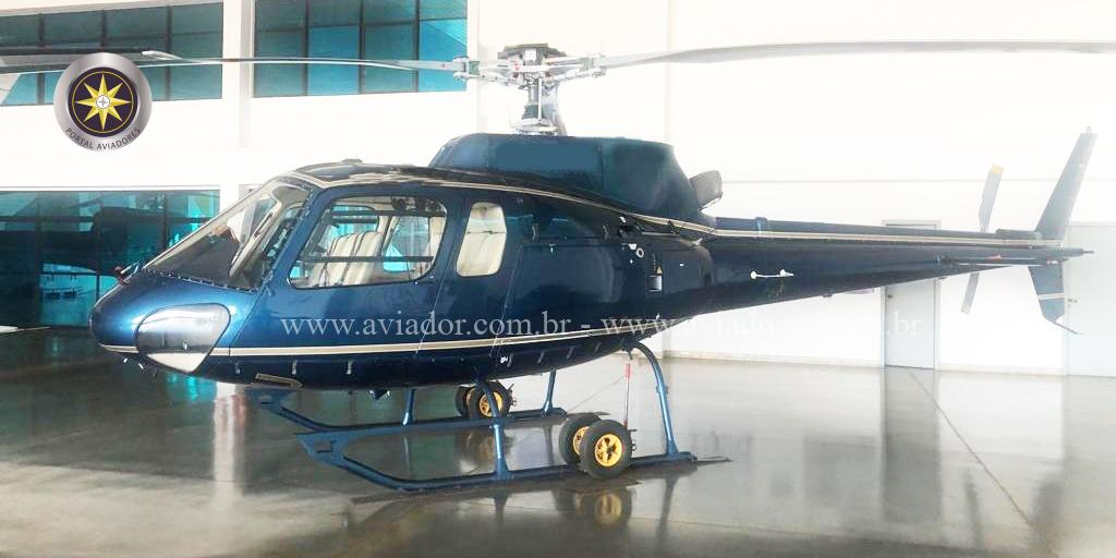 Helicóptero Turbina Eurocopter AS350B2 - Ano 2000 – 2745 - 4.499 H.T.